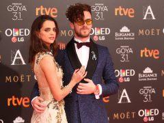 Macarena Gómez y su marido Aldo Comas