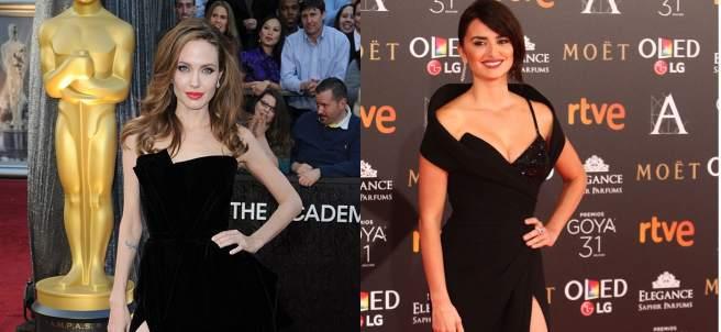 Angelina Jolie y Penélope Cruz