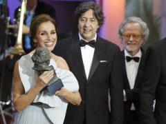 Ana Belén recoge su Goya de Honor