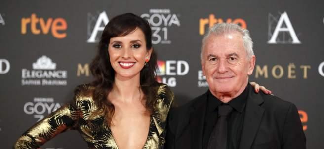 Víctor Manuel y su hija
