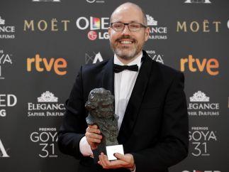 David Pulido, el otro guionista original de los Goya 2017