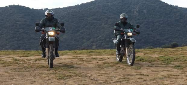 Agentes del Seprona de la Guardia Civil
