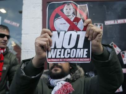Protesta en Vallecas