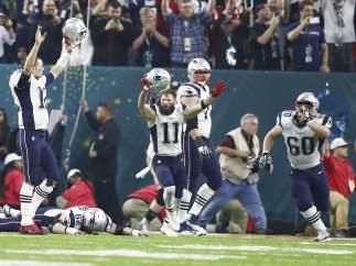 Los Patriots en la Super Bowl