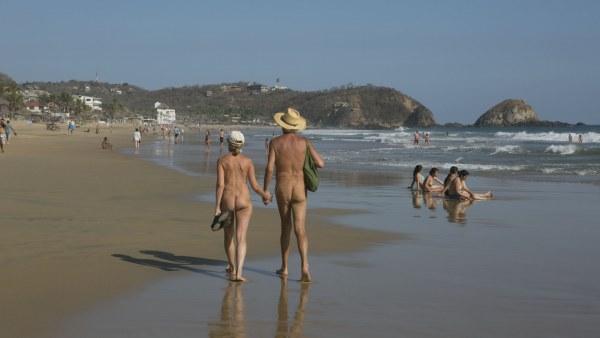 Festival nudista en México