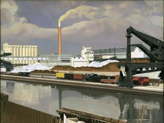 Charles Sheeler, American Landscape, 1930