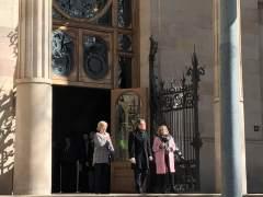 Irene Rigau, Artur Mas y Joana Ortega salen del juicio por el 9N.