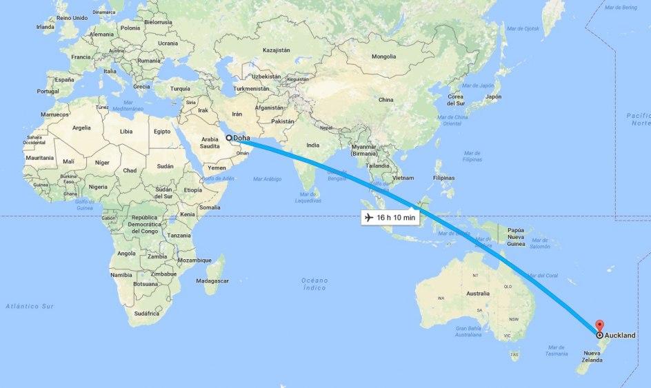 venta barata ee. tecnicas modernas 100% de satisfacción Aterriza en Nueva Zelanda el vuelo comercial más largo del ...