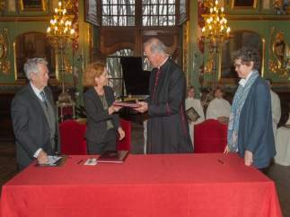 Aurelio Sagaseta, Iciar Astiasarán, Carlos Ayerra Y Ana Marta González.