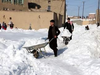 Nevadas Afganistán