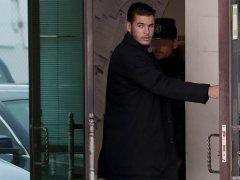 Lucas Hernández y su novia se casan pese a la orden de alejamiento