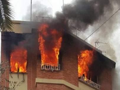 Incendio en Vila-real
