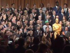 Foto de familia de los nominados al Óscar