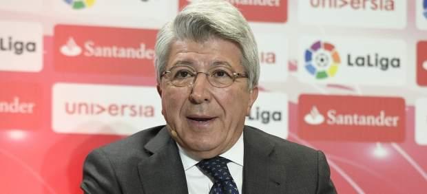 Enrique Cerezo espera que el TAS permita fichar al Atlético en verano como al Real Madrid