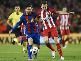 Messi y Saúl