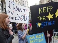 May descarta otro referéndum del 'brexit'