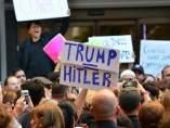 Manifestación anti Trump