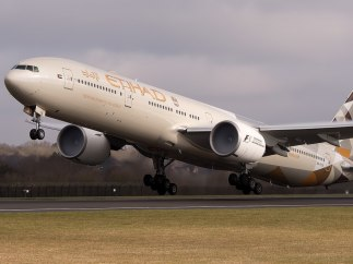 Abu Dhabi International Airport - Los Angeles International Airport