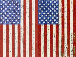 Jasper Johns (b. 1930), Flags I, 1973