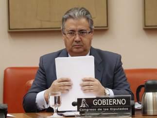 Juan Ignacio Zoido, en el Congreso de los Diputados