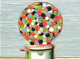 Wayne Thiebaud (b.1920), Gumball Machine, 1970