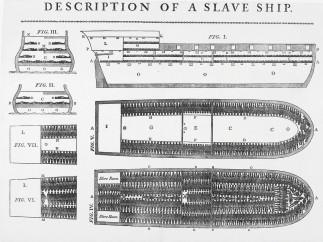 Anonymous, Description of a slave ship,1789