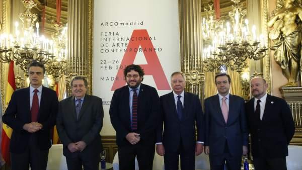 Presentación de la XXXVI Edición Feria ARCO en Madrid