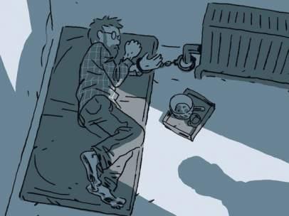 Portada del cómic 'Escapar' de Guy Delisle