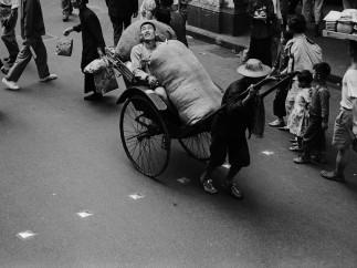Ed van der Elsken, Rickshaw, Hongkong, 1959-1960