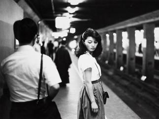 Ed van der Elsken, Girl in the subway, Tokyo, 1984