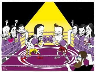 Duelo en Podemos