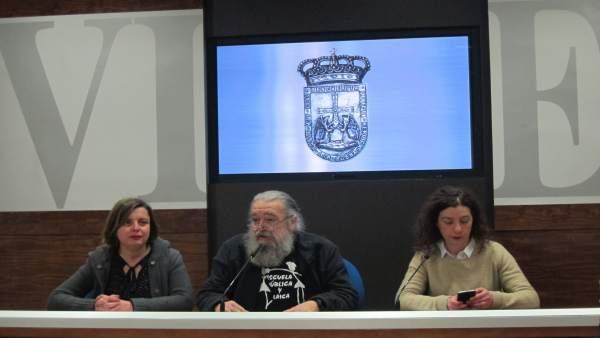 Ana Taboada, Luis Fernández, Cristina Pontón