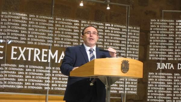 Franciso Martín, en rueda de prensa