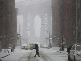Nueva York bajo un manto blanco