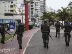 Disturbios en Brasil