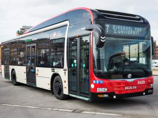 Autobús de Barcelona.