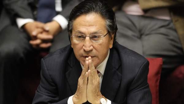 El expresidente peruano Alejandro Toledo