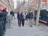 Artur Mas y Helena Rakosnik llegan al TSJC