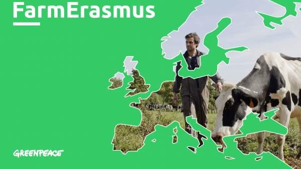 Greenpeace lanza un 'Erasmus' para que granjeros europeos intercambien conocimientos