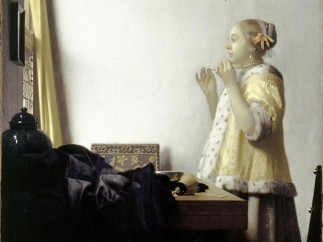 Johannes Vermeer, Young Woman with Pearls, 1663–1664