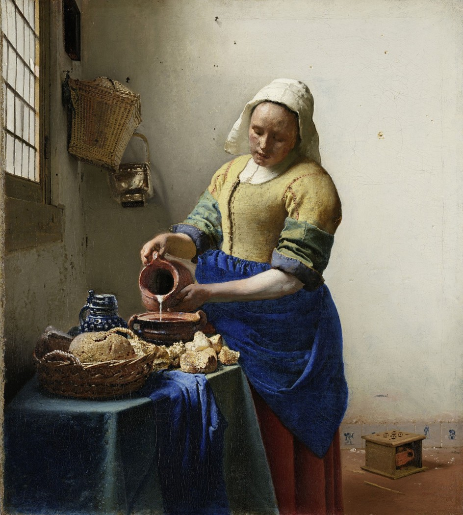 Resultado de imagen de Vermeer y los Maestros de la pintura de genero en el Louvre