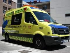 Ambulancia de Sacyl