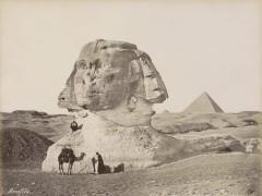 Egipto, imán exótico para los pioneros de la fotografía del siglo XIX