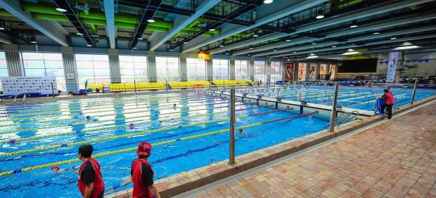 Piscina del Centro de Natación Mundial 86