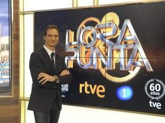 Javier Cárdenas, presentador de Hora Punta