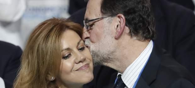\Cospedal y Rajoy\
