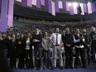 Los dirigentes de Podemos