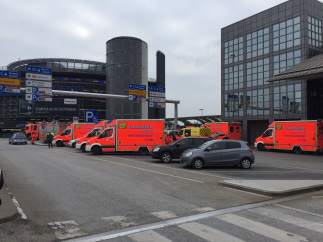 Un islamista con vigilancia electrónica logra salir de Alemania sin problemas