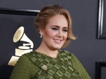 Adele, en los Grammy 2017