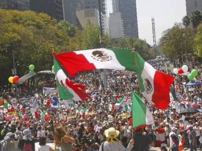 México marcha contra Trump